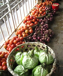 Fruit and vegetables in Uganda